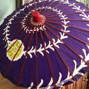 Dapper Days Chinese purple umbrella